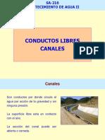 CANALES EN ABASTECIMIENTO DE AGUAS