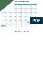 30 30 30 Challenge Checklist (1)