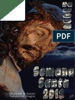 Programa de la Semana Santa de Huesca 2018