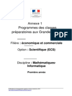 Programme Ecs