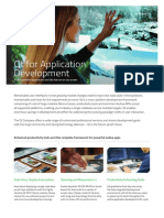 Data Sheet Application Development