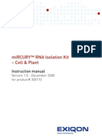 RNA ion Kit Manual - Cell and Plant