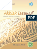 Buku Paket Akhlak Tasawuf Kelas XII, Siswa