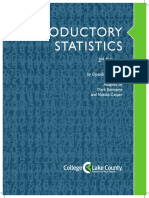 Intro Statistics