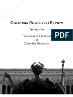 Columbia Roosevelt Review 2010
