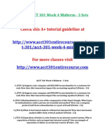 Devry Acct 301 Week 4 Midterm