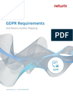 Gdpr Requirements and Netwrix Auditor Mapping 396937