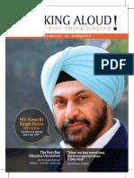 Thinking Aloud Magazine September 205 x 275mm Copy