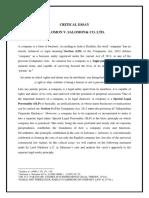 Company Law 1