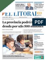 El Litoral Mañana | 27/07/2018