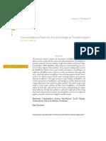 Contemplative Praxis for Social-Ecological Transformation