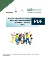 Ey Practical Activities Booklet