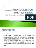 Wills and Succesion Bar Review 2