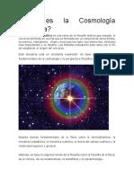 Cosmología Filosófica