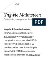Yngwie Malmsteen - Wikipedia,