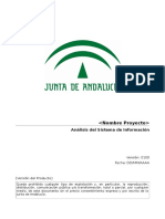 ASI [PROY] Analisis Sistema