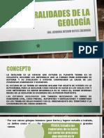 Generalidades de La Geología