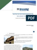 Identificación de recursos tecnológicos