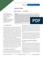 Rasgos asociados al éxito laboral (estudio)