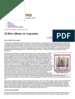 El Libro Álbum en Argentina - Imaginaria No. 107 - 23 de Julio de 2003