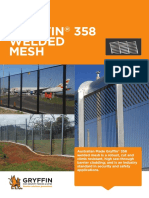 Gryffin 358 Welded Mesh Makes the Ideal High-Security Steel Fence