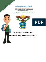 Plan de Tutoria y Prevencion Integral 2014