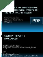 Bangladesh - Country Report 2012