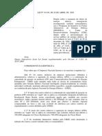 Lei 10.438 de 2004 - PROINFA - Progr. de Incentivo as Fontes Alternativ
