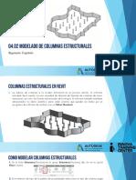 04 02 Modelado de Columnas Estructurales