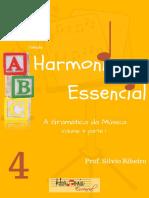 Livro Harmonia essencial Vol.4 parte 1 (HARMONIA FUNCIONAL)