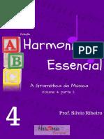 Livro Harmonia essencial Vol.4 parte 2 (HARMONIA FUNCIONAL)