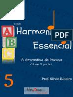 Livro Harmonia essencial Vol.5 parte 1 (HARMONIA FUNCIONAL)