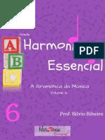 Livro Harmonia essencial Vol.6 (HARMONIA FUNCIONAL)
