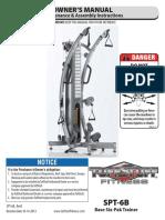 TuffStuff Base Six-Pak Trainer (SPT-6B) Owner's Manual
