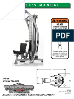 TuffStuff Six-Pak Functional Trainer (SPT-6X) Owner's Manual