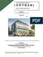 Kontrak Mainkon Hotel Yogya Rev.