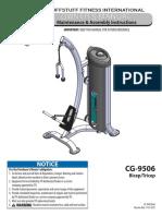 TuffStuff CalGym Bicep / Tricep (CG-9506) Owner's Manual