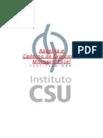 Apostila MS Excel CSU