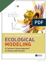 Ecological Modelling (Grantt)