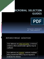 Antibiotic Selection Guide