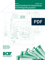 Developing Operating Procedures for Closed Circuit Ammonia Mechanical Refrigerating Systems