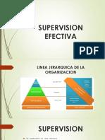 Supervision Efectiva