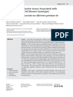 Profile of Reproductive Issues Associated With Different Sickle Cell Disease Genotypes