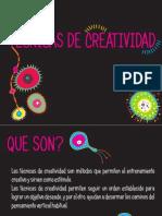 02. Tecnicas de creatividad