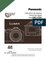 Instructiuni de utilizare Panasonic DMC-FZ50(romana)