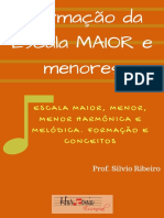 eBook Escala Maior e Menor