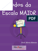 eBook Modos Da Escala Maior