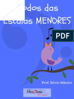 eBook Modos Das Escalas Menores