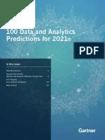 Tealium-Gartner 100 Data and Analytics Predictions