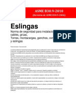 Asme b30.9-2010 en Español